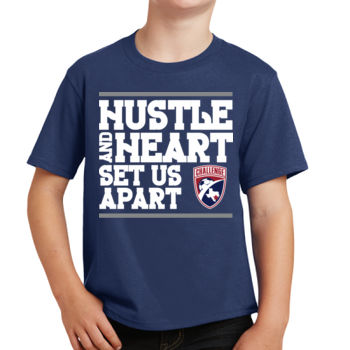 Hustle and Heart - Youth Fan Favorite Tee Thumbnail