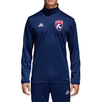 Challenge  - Adult Adidas Core 18 ¼ Zip Training Top Thumbnail