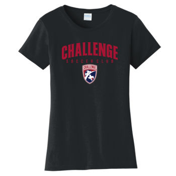 Challenge SC Red Arch w/ Crest - Ladies Fan Favorite Tee  Thumbnail
