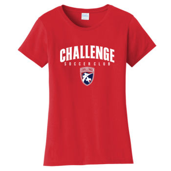 Challenge SC White Arch w/ Crest - Ladies Fan Favorite Tee Thumbnail
