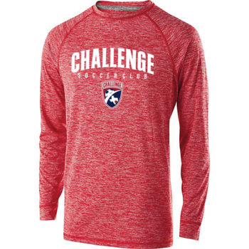 Challenge SC Arch - White w/ Crest - Youth Holloway Electrify 2.0 Shirt Long Sleeve Thumbnail