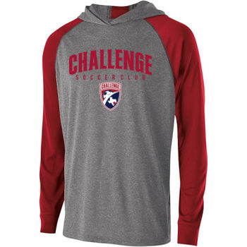 Challenge SC Arch - Red w/ Crest - Holloway Adult Echo Hoodie Thumbnail