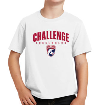 Challenge SC Arch - Red w/ Crest - Youth Fan Favorite Tee Thumbnail