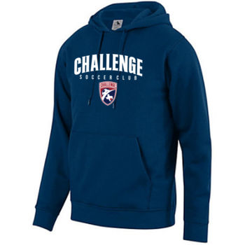 Challenge SC Arch - White w/ Crest - Youth Fleece Hoodie 2 Thumbnail