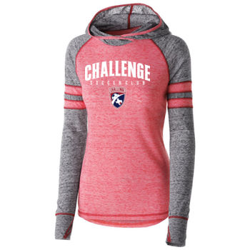 Challenge SC Arch - White w/ Crest - Holloway Ladies Advocate Hoodie Thumbnail